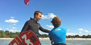 kitesurfen workum