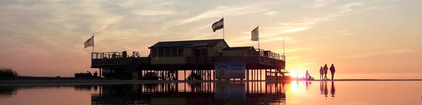 Kitesurfschool op paal 3 schiermonnikoog