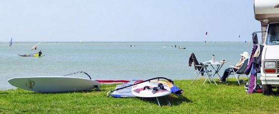 Foto van Weekendje kitesurfen + Camping