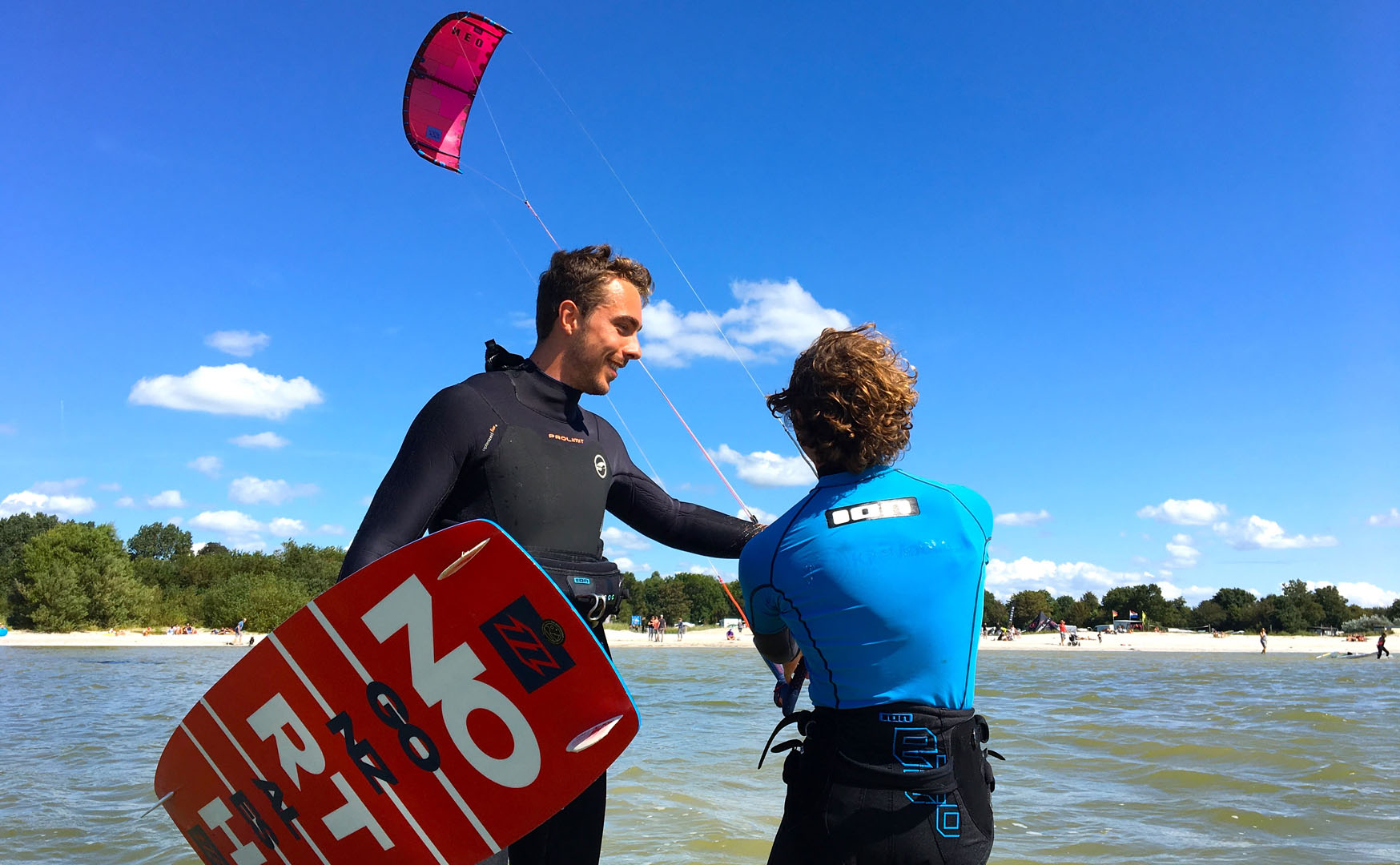 Kitesurf les bij Workum ITSOAL website