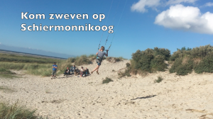 powerkiten op Schiermonnikoog