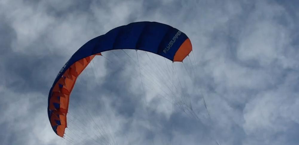 powerkite flysurfer peak voor kinderen en vliegeren