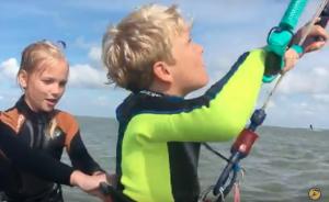 Hoe oud moet je zijn om kitesurfen te leren?