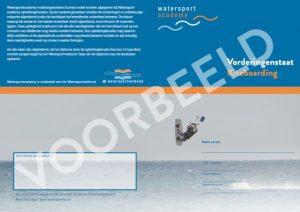 certificaat voor kitesurfen