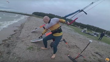 Hydrofoil Test Naish Surf & Kite Foils 2019