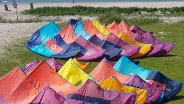 2e hands Duotone kites kopen