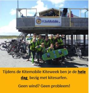 kindere kitesurfen voor kitesurfschool