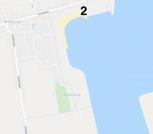 Google Maps overzicht van kitezone Oldambt / Blauwe stad