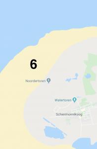 google maps overzicht kitesurfen Schiermonnikoog
