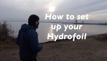 Hoe monteer ik een hydrofoil?