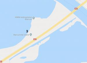 map kite locatie Gooimeer bij Huizen
