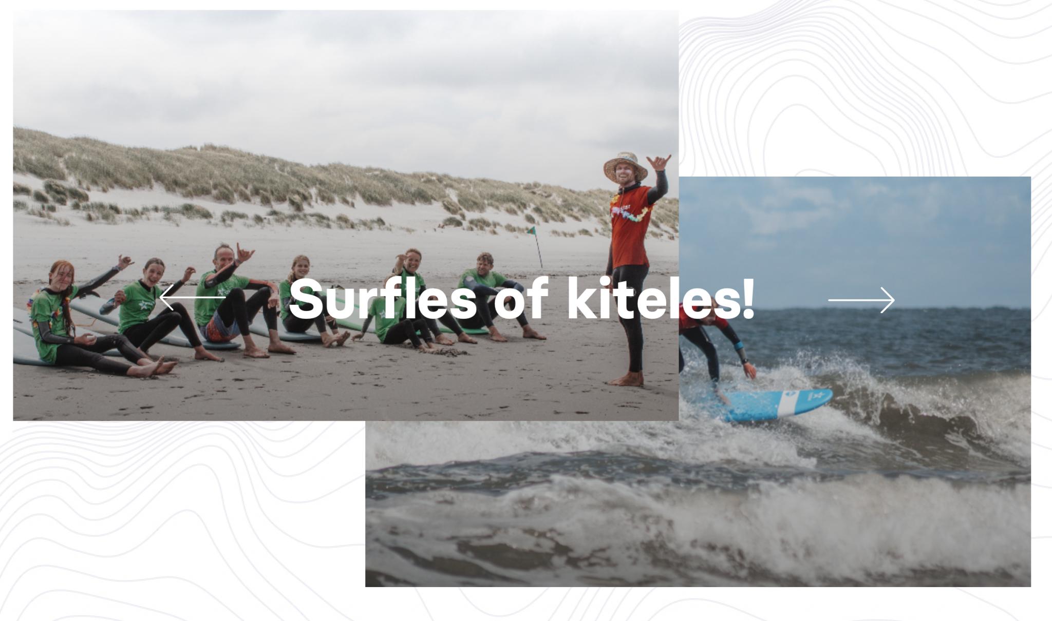 Foto van Kite & Surf Camps voor de Familie
